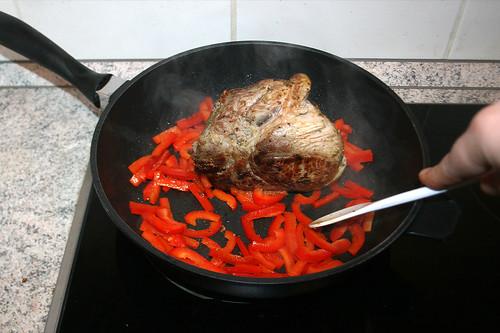 27 - Paprika anbraten / Braise bell pepper