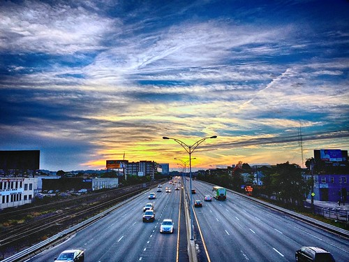 sunset clouds october highway massachusetts turnpike masspike hdr allston incamera 2014 jaym mahler9 galaxyg4