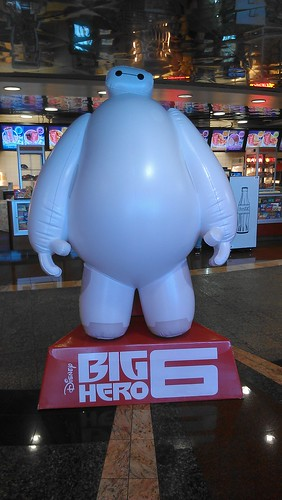Big Hero 6 Baymax Movie Standee