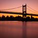 Triboro Bridge at sunset by Rich Williams ©™