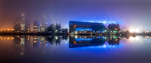 Edgewater Casino, foggy