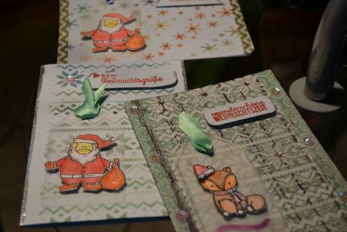 Weihnachtskarten und kein Ende