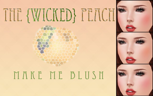Wicked Peach _ Cosmetic Ad Make Me Blush