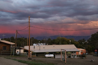 Sunset from A&A RV Park, near Mesa Verde