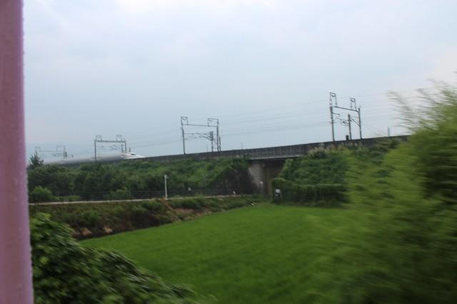新幹線と近江鉄道の隣接具合【景観補償関連】 (3)