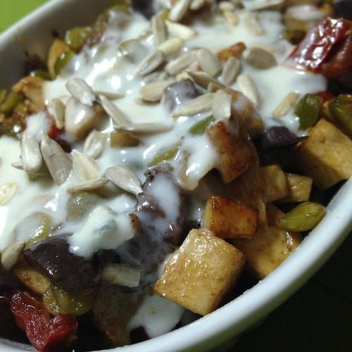 tofu saltato colorato