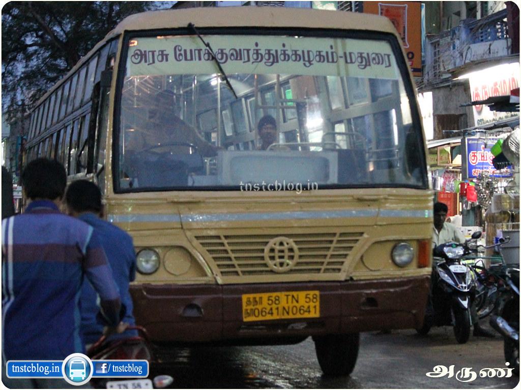 TNSTC Madurai City Bus
