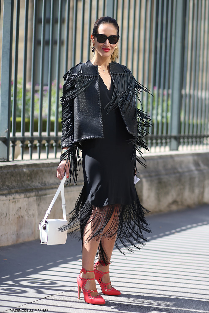 Tiany Kiriloff at Paris fashion week