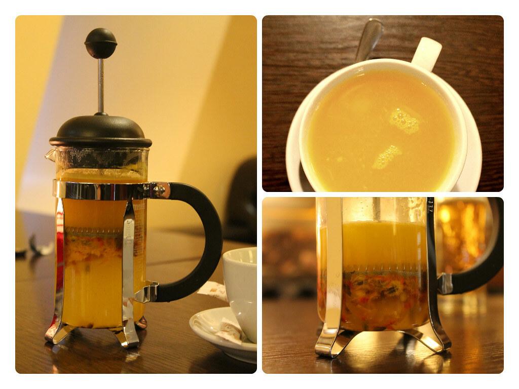 Чай с облепихой как в шоколаднице