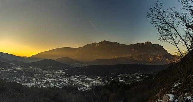 Il primo tramonto del 2015
