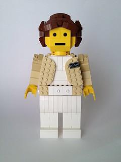 Hoth Leia midifig