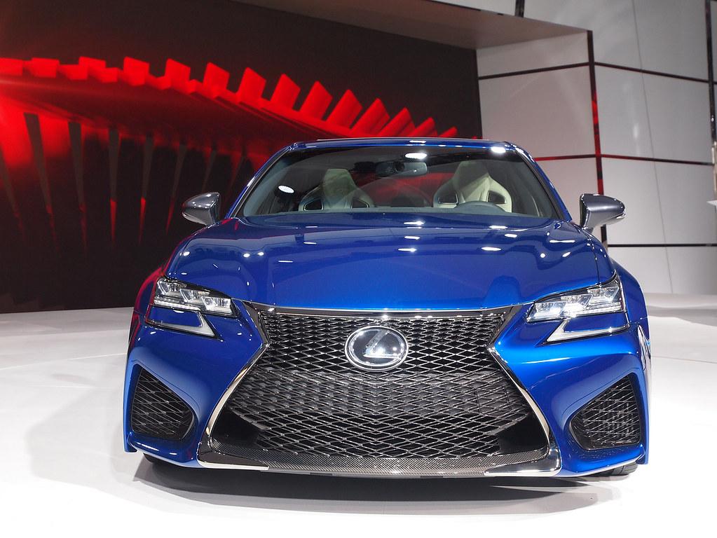 2016 Lexus GS F live photos: 2015 NAIAS