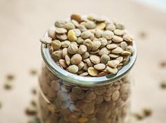 Raw lentil
