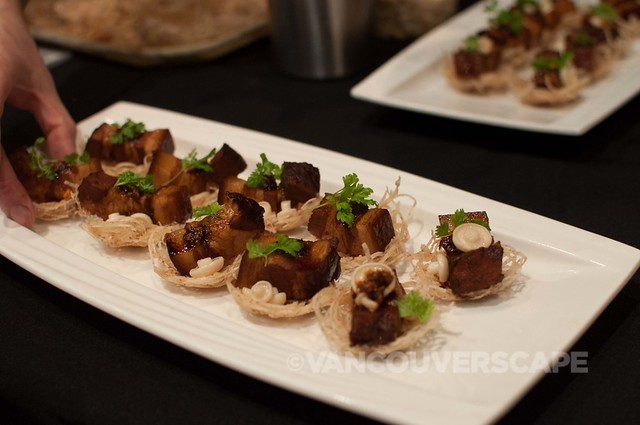 Bambudda Gastown: Pork belly appetizers