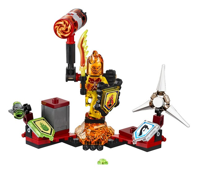 LEGO Nexo Knights 70339 - Ultimate Flama