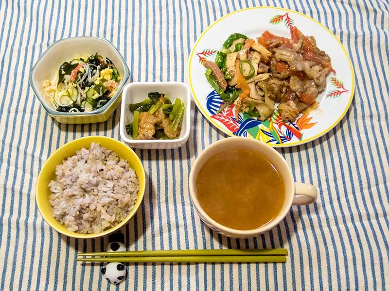 2016年5月11日の晩ご飯