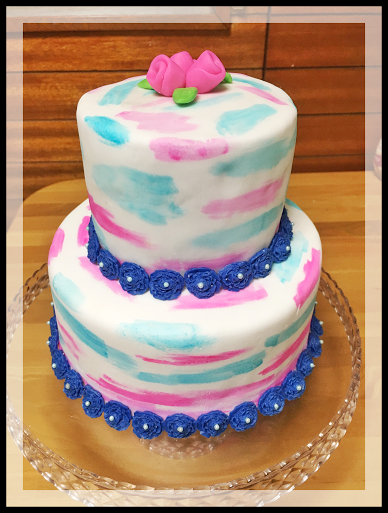 Lovely Birthday Cake by Icelyn Rich Talabero