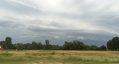 20150814 Interesting Clouds and Sky; Fond du Lac County, Wisconsin - 07
