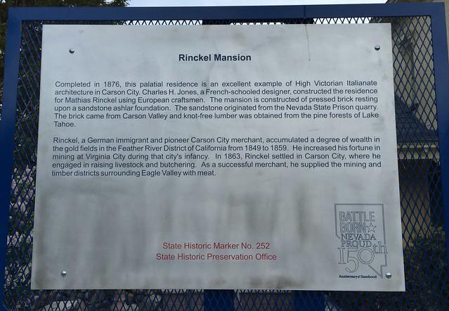 Nevada State Historical Landmark #252