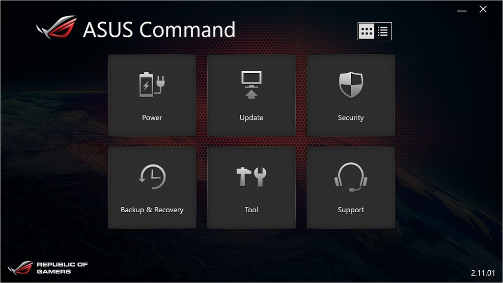 ASUS Command