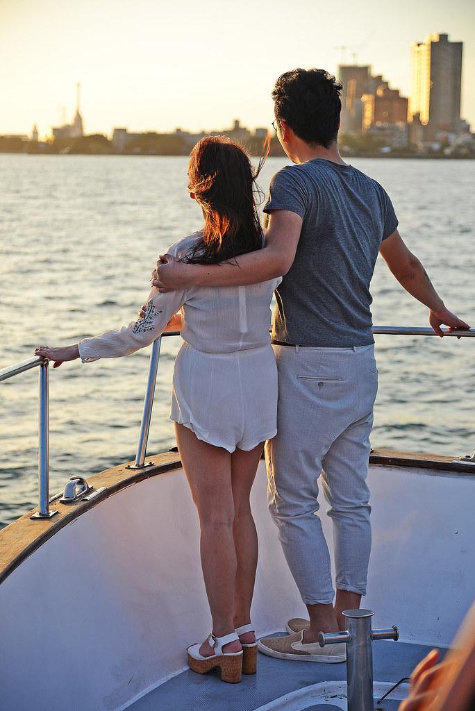 福容大飯店漁人碼頭 黃昏出海看夕陽