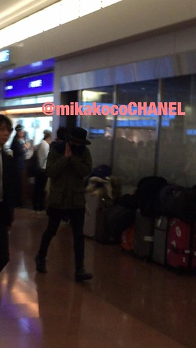 Big Bang - Haneda Airport - 27feb2015 - G-Dragon - mikakocoCHANEL - 01