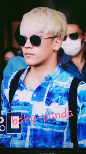 Big Bang - Gimpo Airport - 20may2015 - Seung Ri - Baby Panda - 01