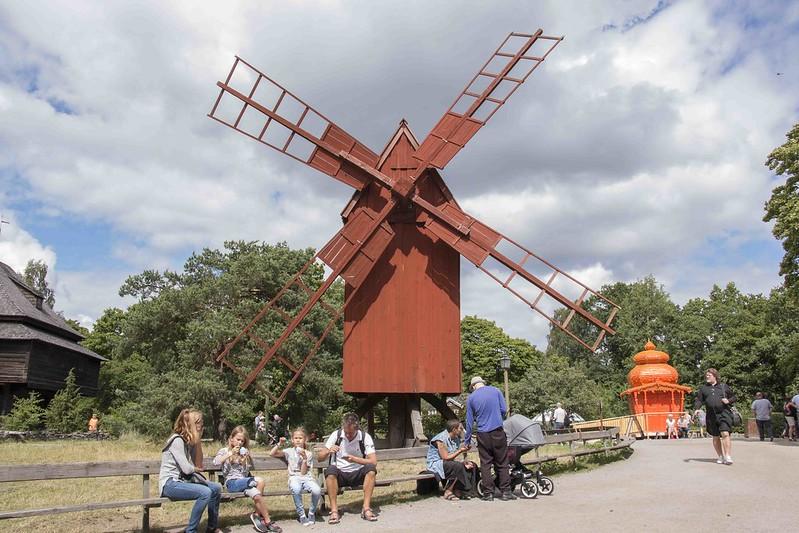 Stockholm Skansen Museum windmill