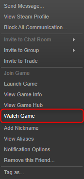 """Watch Game"""