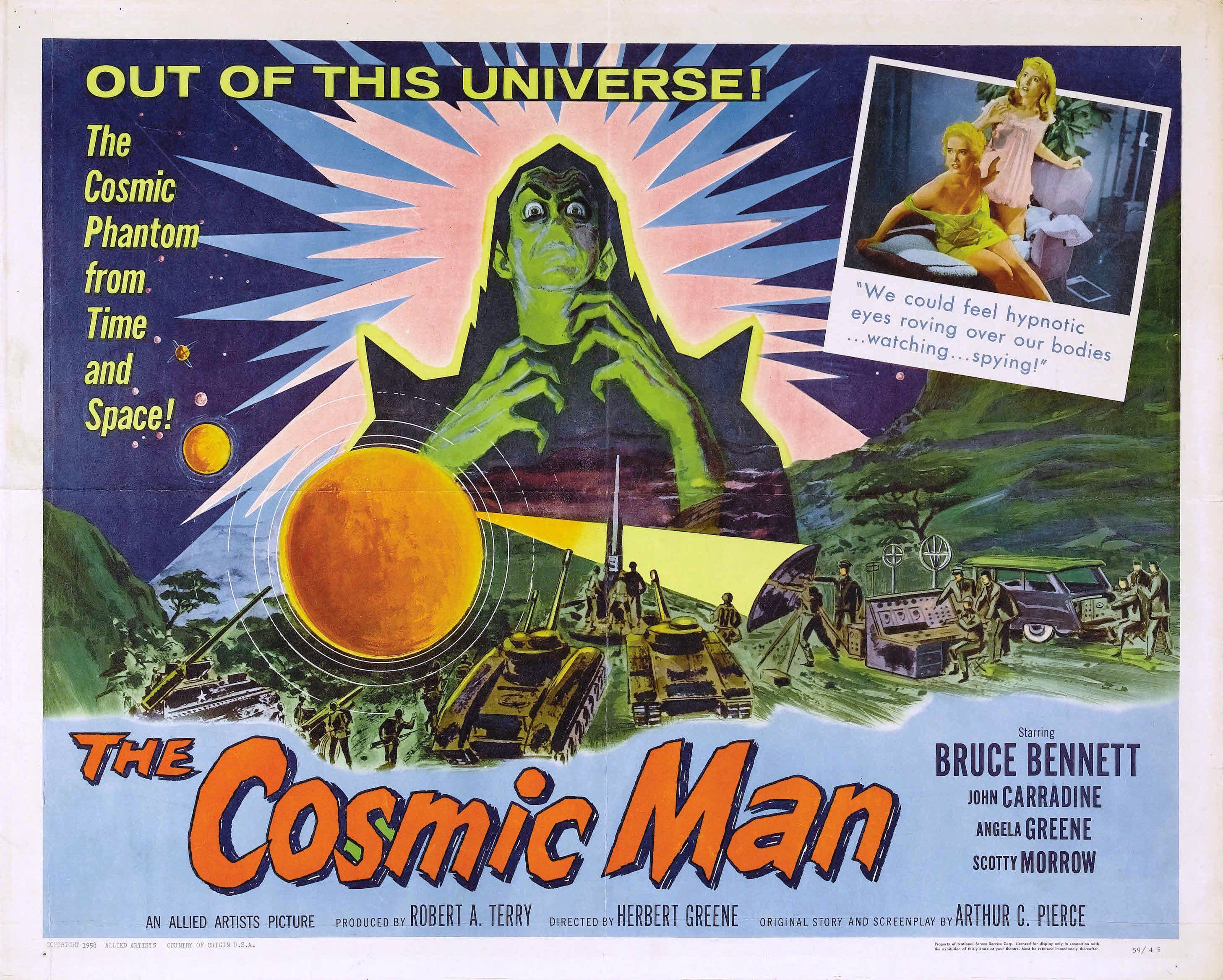 The Cosmic Man (1959)