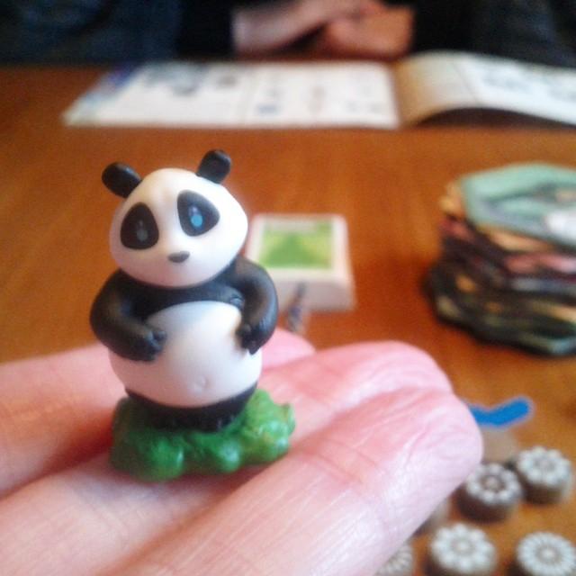 My new game. #boardgaming #pandalove #takenoko