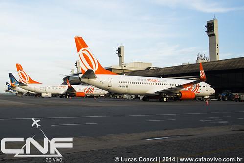 Boeing 737-800 Gol Linhas Aéreas PR-GTL