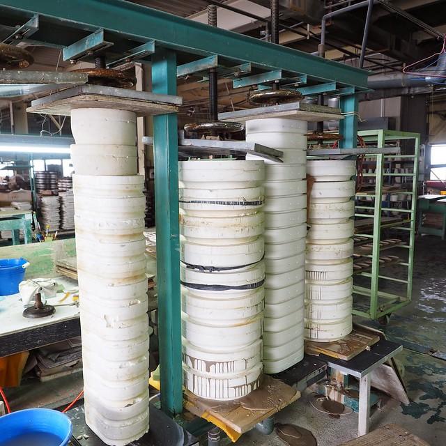 圧力鋳込の製造工程