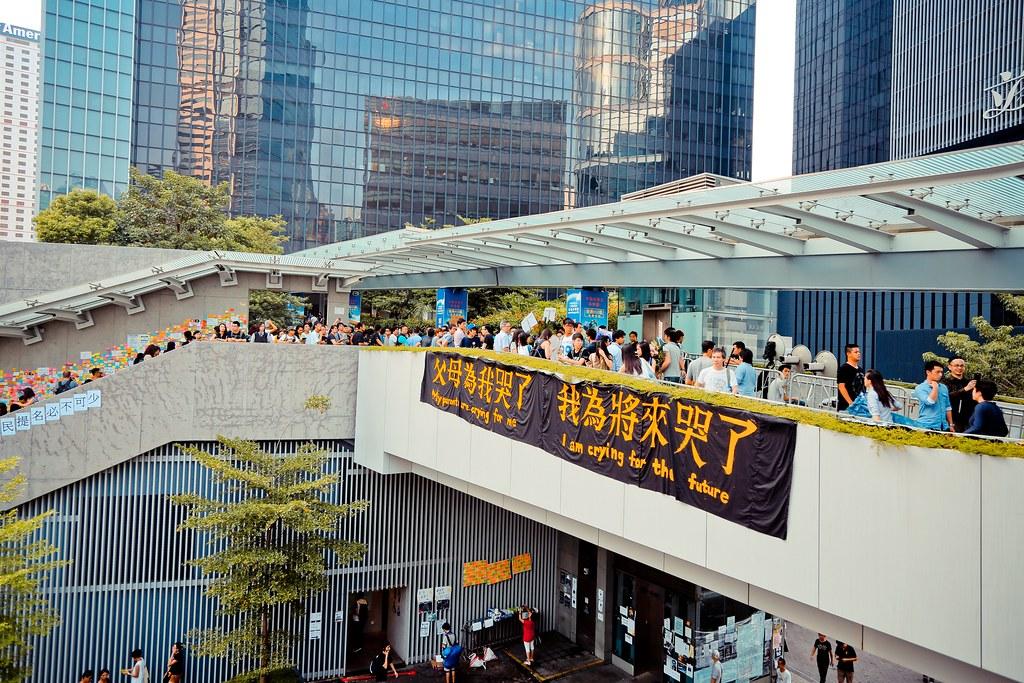 Umbrella movement - 0473