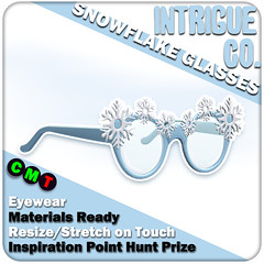 Intrigue Co. - Snowflake Glasses