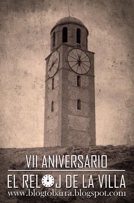 CARTEL VII ANIVERSARIO DEL BLOG