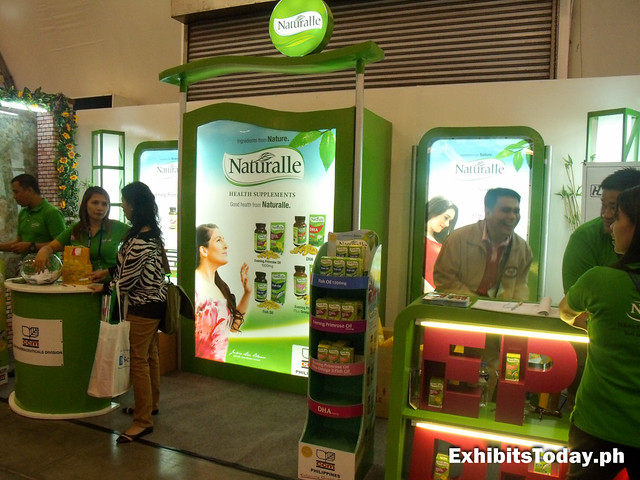Naturalle Exhibit Booth