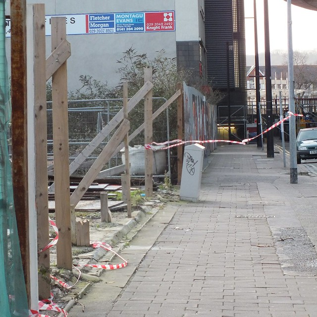 Damage to the Empty Walls Street Jam