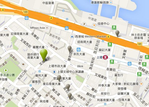 iclub map