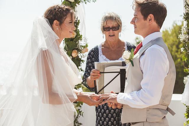 Real Ibiza wedding: Danielle & David by Natalie Beth Harris