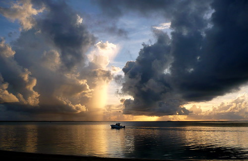 sky sea sunset clouds ocean water light tonga fafaisland boat reflection explored exploredonflickr outside outdoor beach coast seashore shore seaside sand panasonicdmctz2 seascape inexplore beachscape beachscene beaches