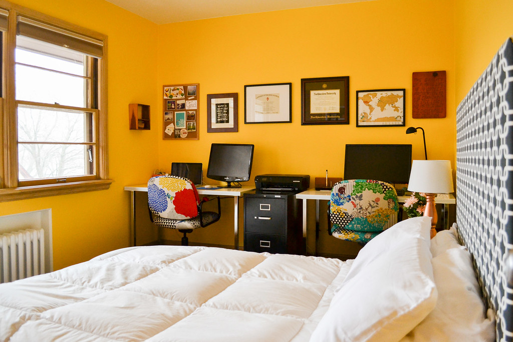 Superb Dual Purpose Room Office And Guest Bedroom Largest Home Design Picture Inspirations Pitcheantrous