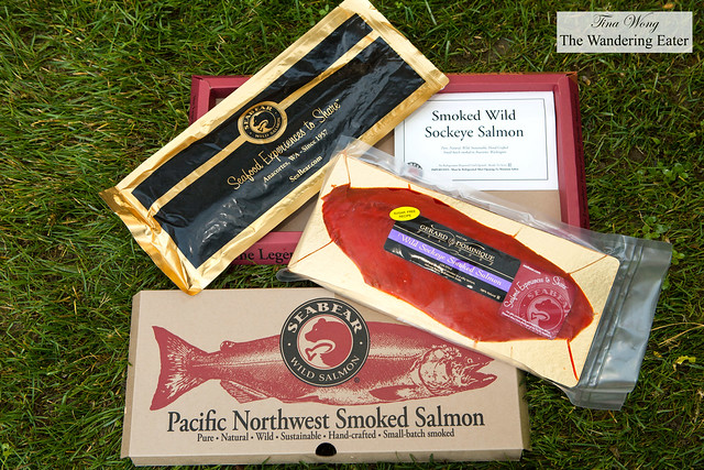 SeaBear Wild Sockeye Smoked Salmon
