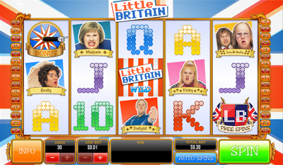 Little Britain slot game online review