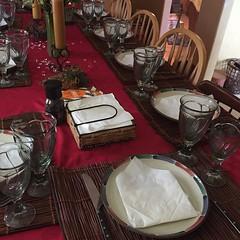 Dinner table III #thanksgivingdinner