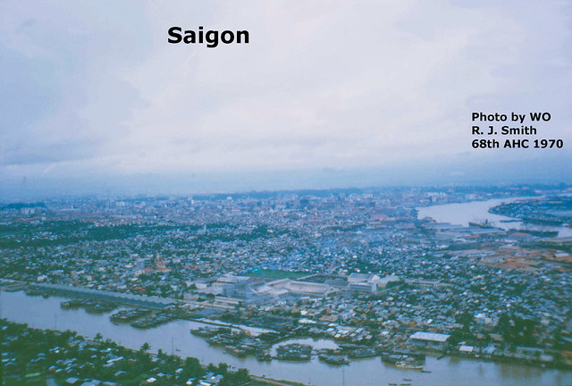 SAIGON 1970 - Kinh Tẽ, Quận 4, Sông Saigon - Photo by CWO R. J. Smith