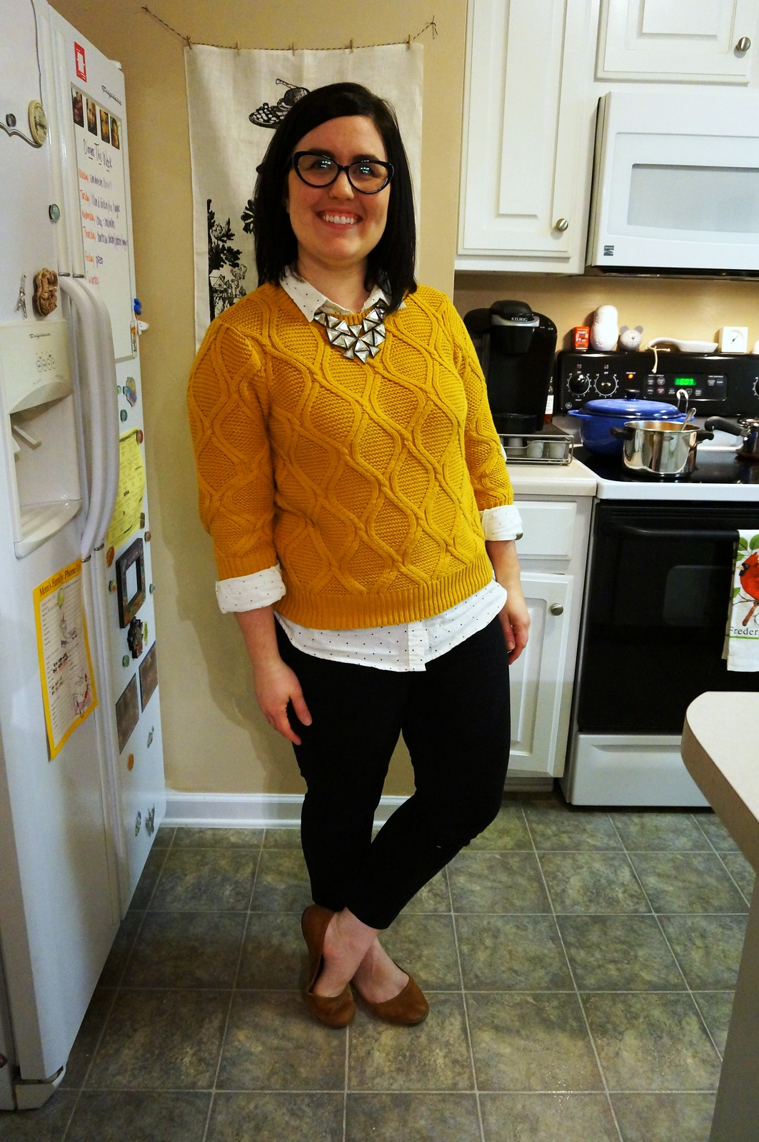 The Best Mustard Sweater Old Navy