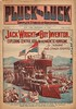 Pluck and Luck Dime Novel Pulp Magazine: Jack Wright and his Magnetic Hurricane
