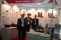 Matrix introduced its telecom and security solutions engineered for Defence Application at DEFCOM India, New Delhi, (17-18 October)