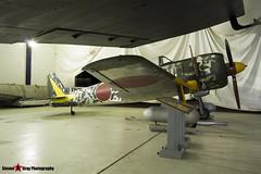 N43JE - 15344 - Nakajima Ki-43-IIIa Hayabusa Replica - Tillamook Air Museum - Tillamook, Oregon - 131025 - Steven Gray - IMG_8074